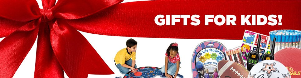 Get some great presents for kids at OfficeZilla!