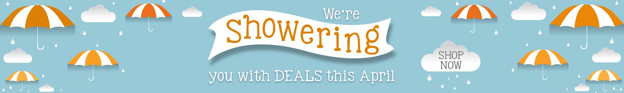 We're showering you with deals this April at www.OfficeZilla.com!