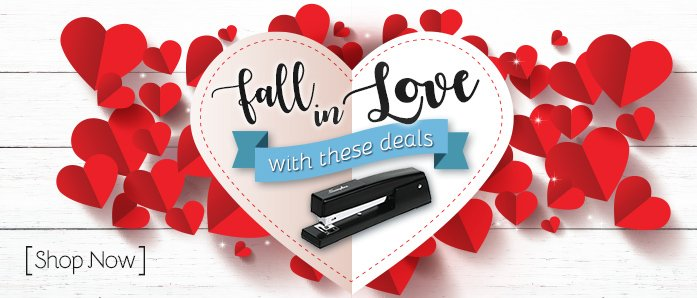 Fall in love with these great deals on office supplies at OfficeZilla.com!