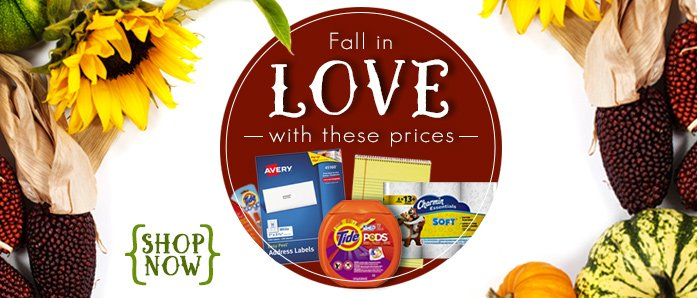Fall in LOVE with our September Deals at OfficeZilla.com!