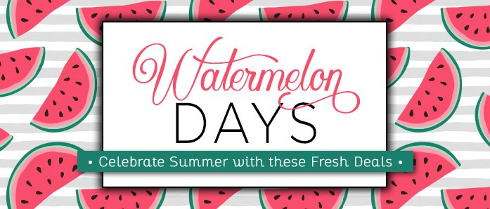 Watermelon Days means great deals on office supplies at OfficeZilla.com!